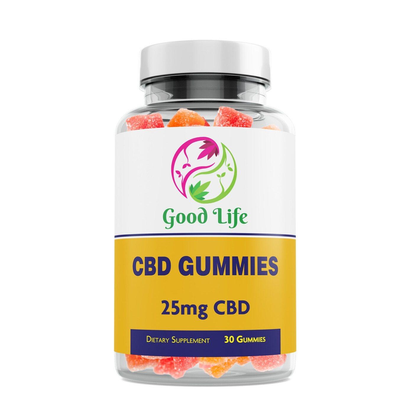 25mg CBD Gummies
