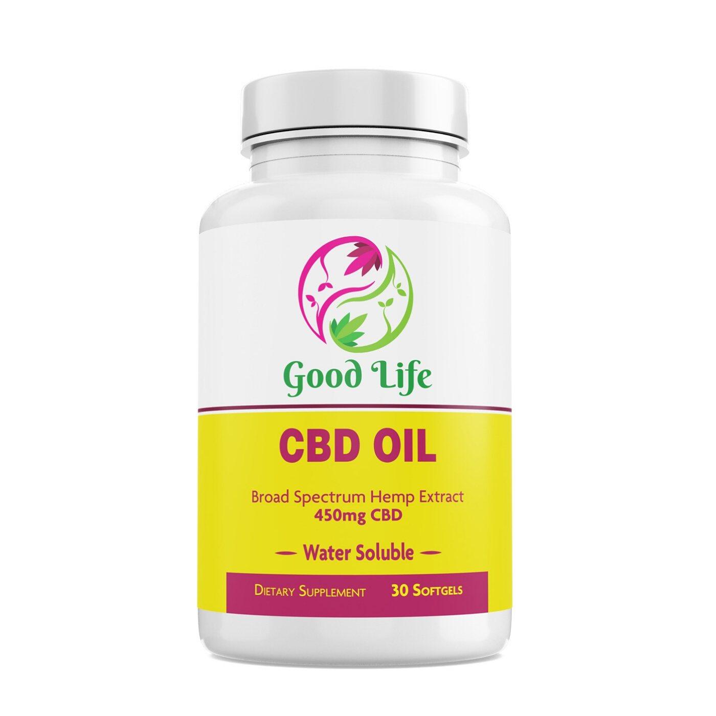 450mg CBD oil Softgels