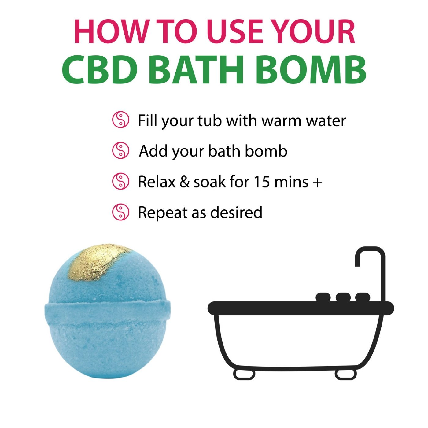 How To Use Bath Bomb Pain Reliever