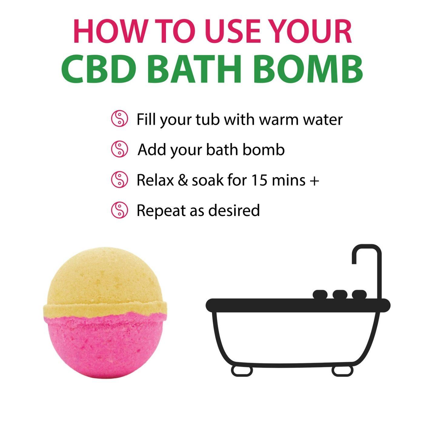 bath bomb with cbd