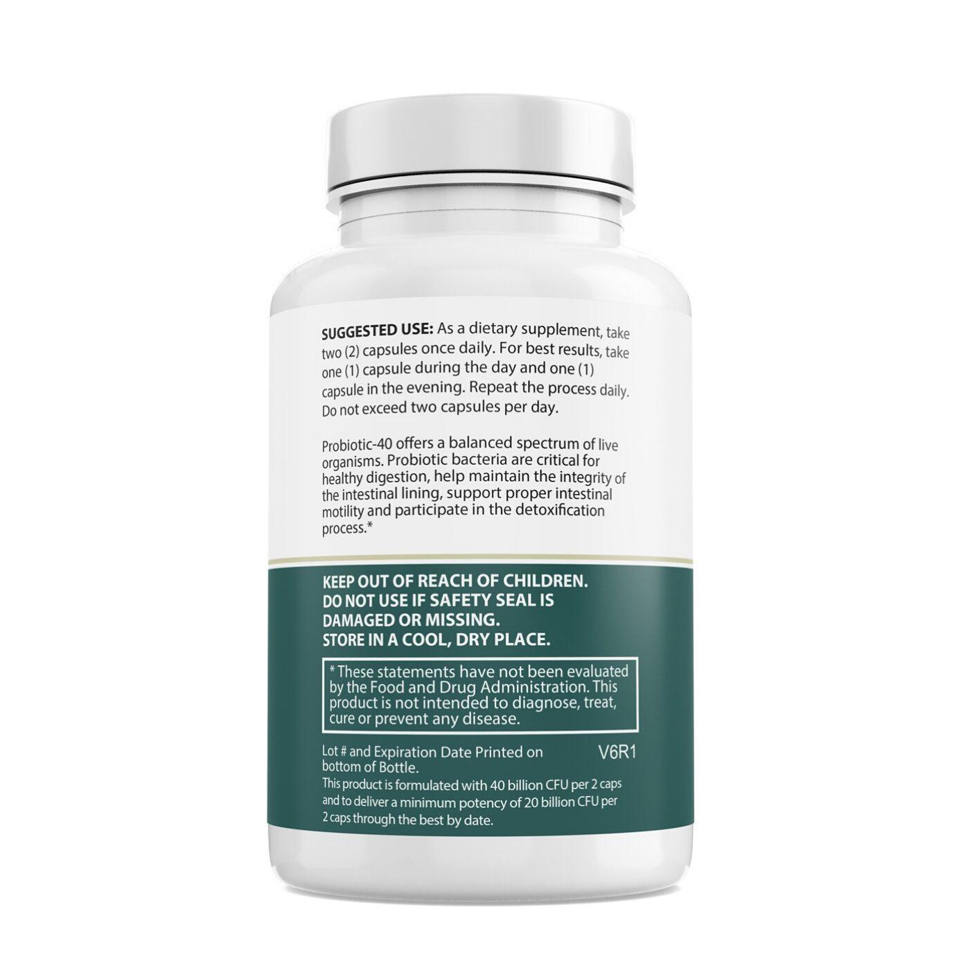 Probiotic 40 60ct
